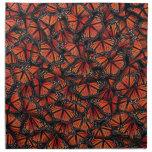 Mariposa de monarca servilletas de papel