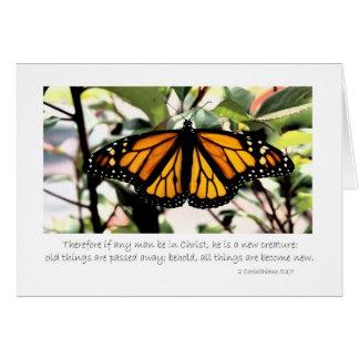 mariposa de monarca si cualquier hombre esté en tarjeta de felicitación