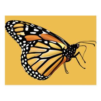 Mariposa de monarca tarjetas postales