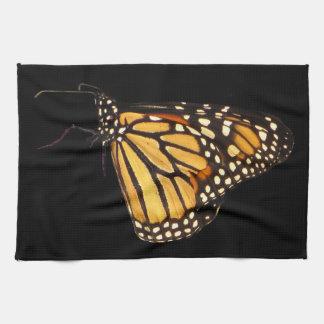 Mariposa de monarca toalla
