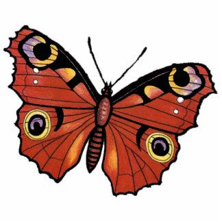 Mariposa de monarca viva bonita fotoescultura vertical