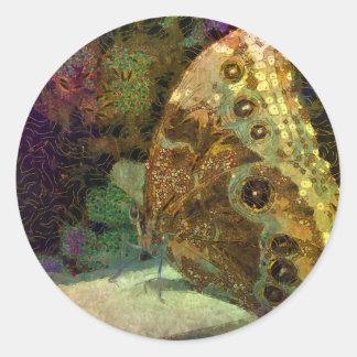 Mariposa de oro, Klimt, arte, arte de la mariposa