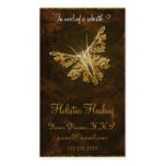Mariposa de oro (modelo 2) - cura holística tarjeta personal