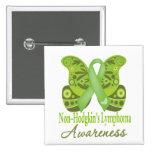 Mariposa de Paisley - linfoma de Non-Hodgkins Pins
