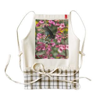 Mariposa de Pipevine Swallowtail Delantal Zazzle HEART
