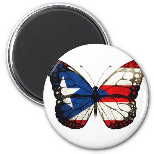 Mariposa de Puerto Rico Imán