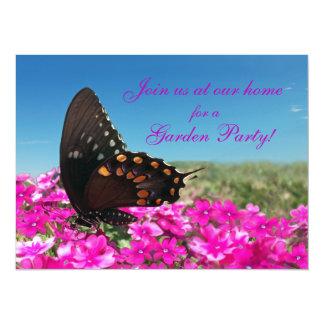 "Mariposa de Spicebush Swallowtail Invitación 5.5"" X 7.5"""