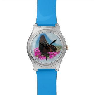 Mariposa de Spicebush Swallowtail Relojes