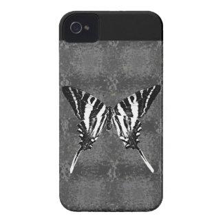 Mariposa de Swallowtail de la cebra de Tennessee Case-Mate iPhone 4 Funda
