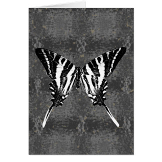 Mariposa de Swallowtail de la cebra de Tennessee Tarjetón