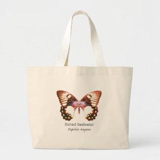 Mariposa de Swallowtail de la huerta con nombre Bolsas De Mano
