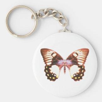 Mariposa de Swallowtail de la huerta Llavero Personalizado
