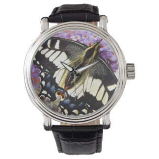 Mariposa de Swallowtail del anís Relojes De Pulsera