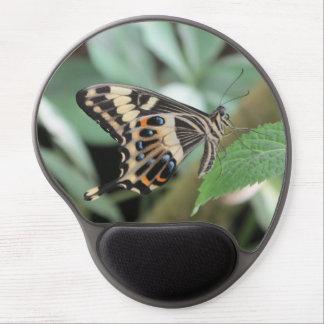 Mariposa de Swallowtail del emperador Alfombrillas De Raton Con Gel