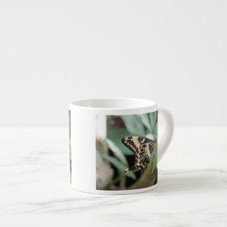 Mariposa de Swallowtail del emperador Taza De Espresso