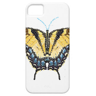Mariposa de Swallowtail del tigre Bedazzled iPhone 5 Fundas