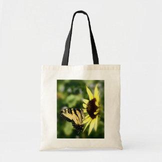 Mariposa de Swallowtail del tigre Bolsa Tela Barata