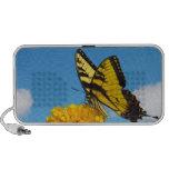 Mariposa de Swallowtail del tigre en una flor Altavoz De Viaje