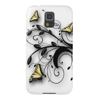 Mariposa de Swallowtail del tigre Funda Galaxy S5