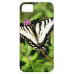 Mariposa de Swallowtail del tigre. Papilio glacus. Funda Para iPhone SE/5/5s