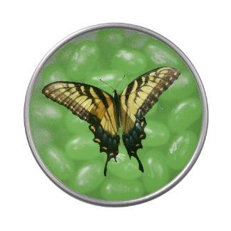 Mariposa de Swallowtail Latas De Dulces