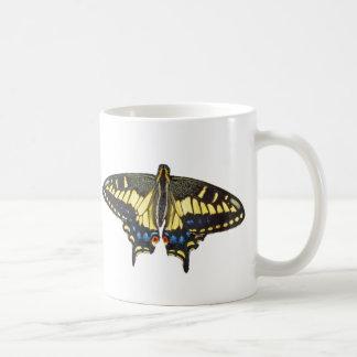 Mariposa de Swallowtail - taza