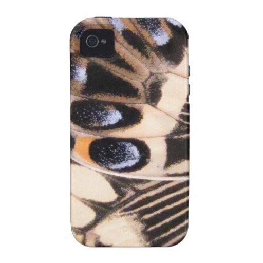 Mariposa de Swallowtail Vibe iPhone 4 Carcasas