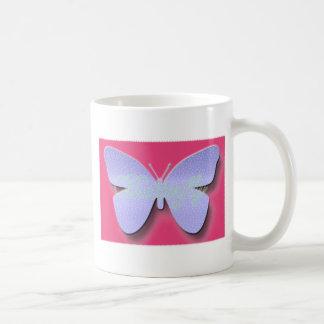 Mariposa del alboroto taza clásica