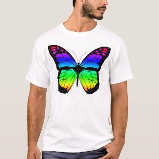 Mariposa del arco iris playera