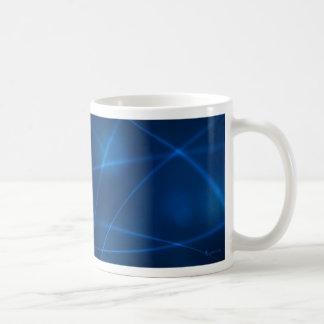 Mariposa del arco iris taza de café