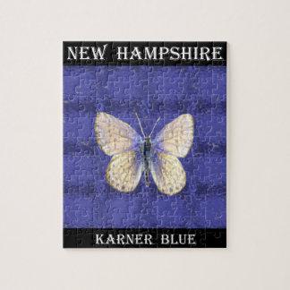 Mariposa del azul de New Hampshire Karner Rompecabezas