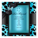 Mariposa del azul del trullo del leopardo de anuncios personalizados