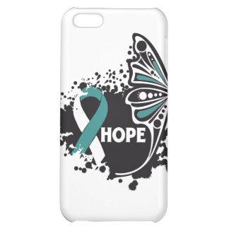 Mariposa del cáncer de cuello del útero de la espe