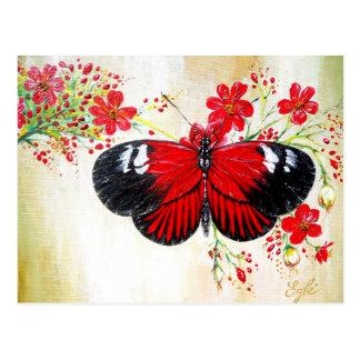 Mariposa del cartero postal