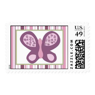 Mariposa del ciruelo del azúcar de 20 sellos