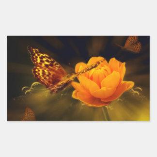 Mariposa del cuento de hadas rectangular altavoz