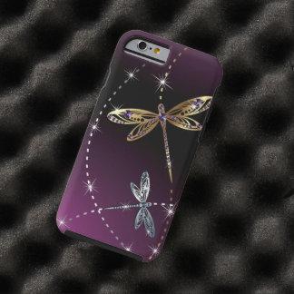 Mariposa del diamante del encanto funda de iPhone 6 tough