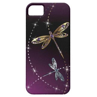 Mariposa del diamante del encanto iPhone 5 funda