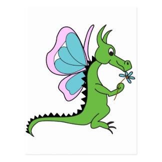 Mariposa del dragón postales