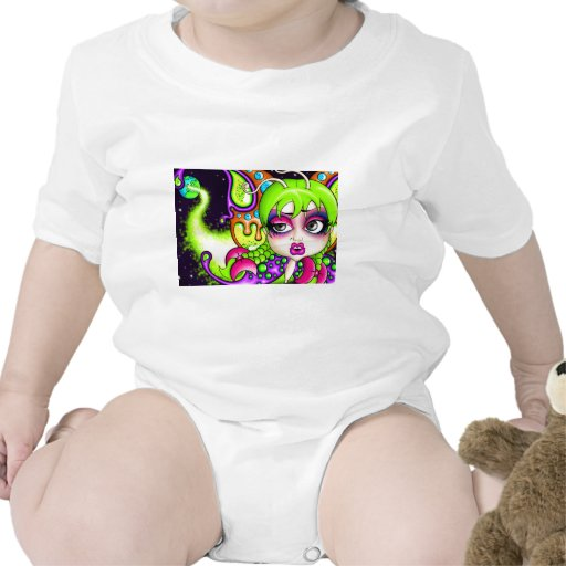 Mariposa del espacio traje de bebé