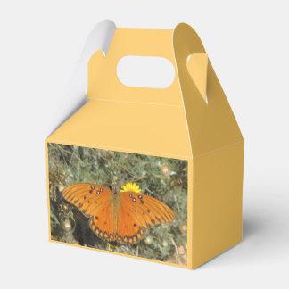Mariposa del Fritillary del golfo Cajas Para Regalos