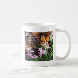 Mariposa del Fritillary del golfo de Juan 8 Tazas De Café