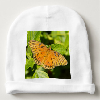 Mariposa del Fritillary del golfo Gorrito Para Bebe