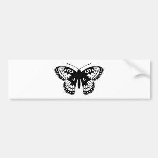 Mariposa del Fritillary Pegatina Para Auto