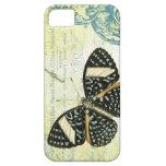 mariposa del funda-Vintage del iPhone 5 iPhone 5 Cárcasas