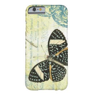 mariposa del funda-Vintage del iPhone 6 Funda De iPhone 6 Barely There