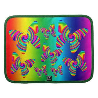 Mariposa del giro del arco iris planificadores