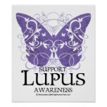 Mariposa del lupus posters