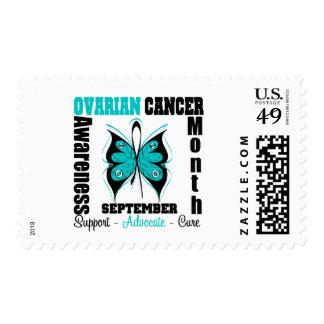 Mariposa del mes de la CONCIENCIA del cáncer Envio