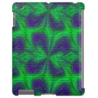 Mariposa del mosaico, caja Púrpura-iPad